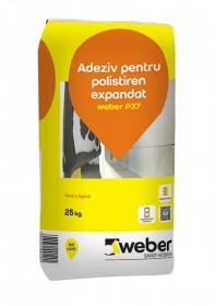 Adeziv pentru polistiren expandat weber P37 WEBER  weber P37