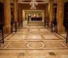 Slefuire marmura pentru restaurare pardoseala  – Hotel Athénée Palace Hilton