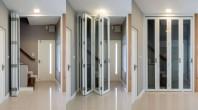 Sistem de usi armonice pentru terase M9800