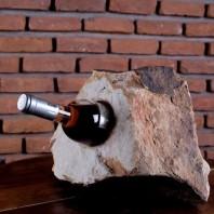 Suport sticle vin - Sandstone Mandras (1 gaura) PIATRAONLINE  AG-2809