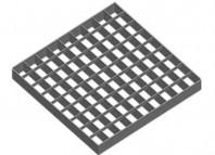 Element de gratar din tabla decapata, zincat termic - GRIRO tip IV