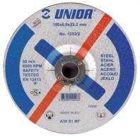 Discuri de taiere cu gaura micsorata, pentru otel 1202/2