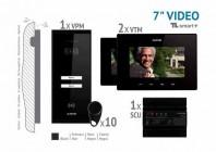 Kit video SMART+ 7'', panou aparent - VKM.P2SR.T7S4.ELB04