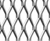 Grilaje din tabla expandata - romb