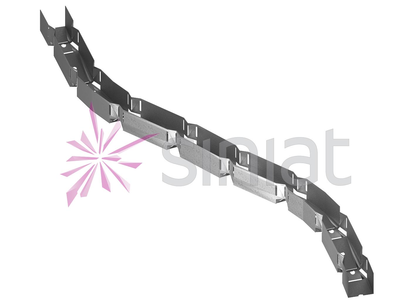 Siniat profil vertebra NIDA Metal GV30
