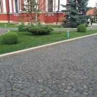 Piatra Cubica Granit Gri Antracit Natur 10 x 10 x 10cm - PC-3265