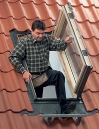 Fereastra de iesire pe acoperis pentru mansarde locuite - VELUX GXL
