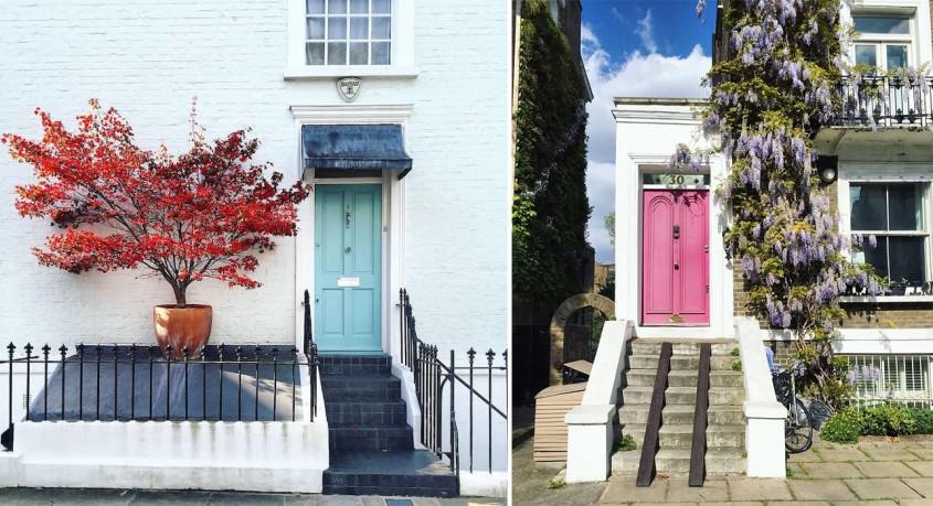 Cum îți faci o intrare de efect: Inspiră-te din fascinantele uși ale Londrei