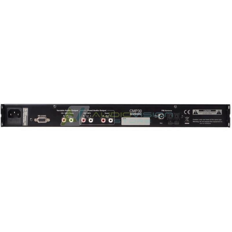 Dispozitiv audio digital all-in-one Audac CMP30
