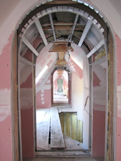Interior Casa Memoriala Ilie Birt in timpul restaurarii  Brasov SAINT-GOBAIN CONSTRUCTION PRODUCTS ROMANIA - DIVIZIA RIGIPS
