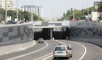 Amenajarea cu piatra naturala a pasajului Piata Sudului Bucuresti