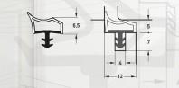 Garnitura pentru usi de interior - Art. M3967/12