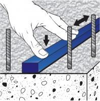Cordon de etansare pentru hidroizolarea rosturilor - MAPEI IDROSTOP