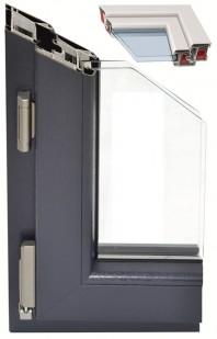 Sistemul TROCAL 70 pentru ferestre cu deschidere spre interior