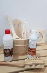 Set accesorii pentru saune uscate