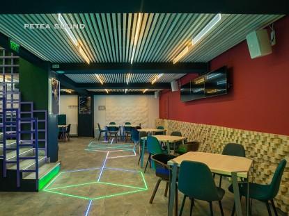 Sistem de iluminat - restaurant Fever Constanta  Constanta PETEA Sound