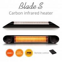 Incalzitor terasa Veito Blade S 2 5kW fibra Carbon Aluminiu Telecomanda 4 Trepte Afisaj LED buton