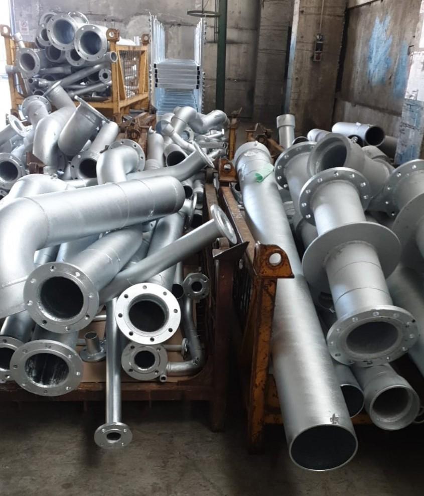 Vapor românesc protejat împotriva coroziunii prin zincare termică