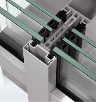 Sistem de profile din aluminiu pentru pereti cortina - Schüco FWS 60 HI