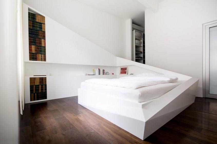 """""""Patul de gheaţă"""" – design inedit pentru interior cu plăci minerale CORIAN®Solid Surface"""