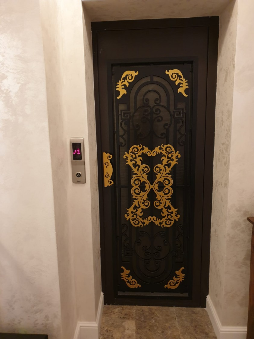 Hotel Excelsion - interior   Sinaia MURALI ARTWORK