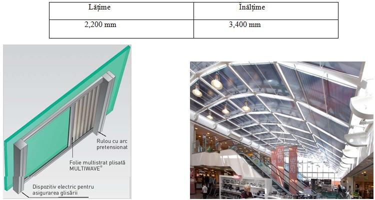 Rulouri orizontale cu folie și arc pretensionat - recomandate pentru ferestrele înclinate și pentru cele în