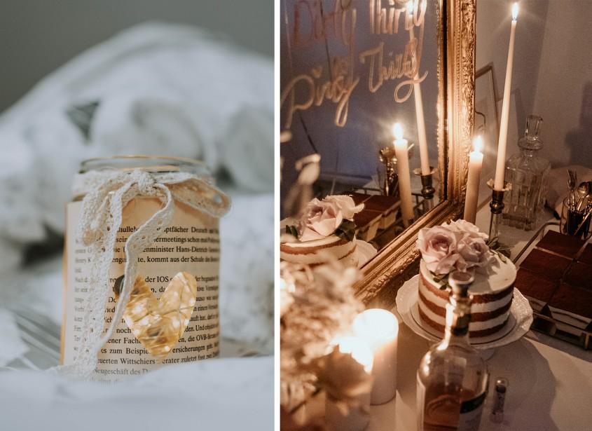 O lumânare perfectă de Ziua Îndrăgostiților