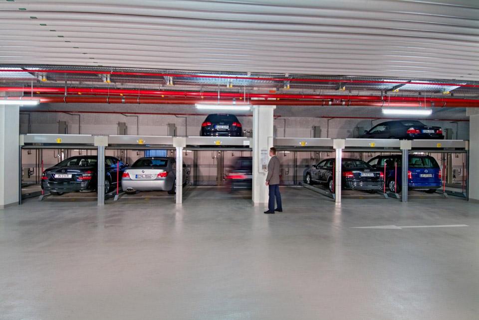 Sistem mecanic de parcare - COMBILIFT 551