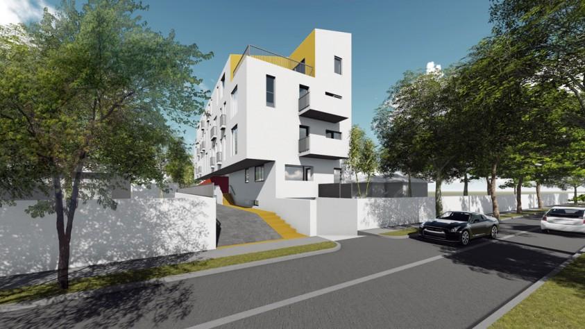 Locuinte colective D+P+2E+M - Bucuresti - str. Peris - 01.10  Bucuresti AsiCarhitectura