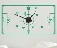 """Sticker tip ceas de perete """"Pentru fotbal"""": sut si gooool!"""