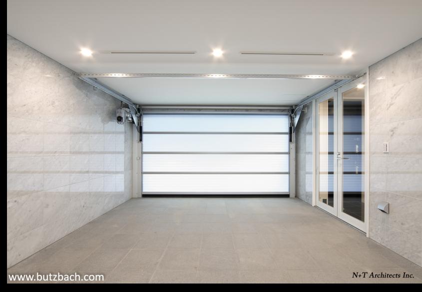 Uși de garaj pentru accesul în parcajele comune - Butzbach Sectiolite Sprint