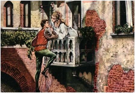 Romeo şi Julieta – scena balconului
