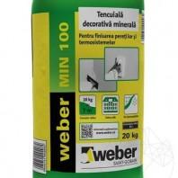 Tencuiala decorativa minerala - Weber MIN 100 - K 2 - 20kg Weber Saint Gobain Romania