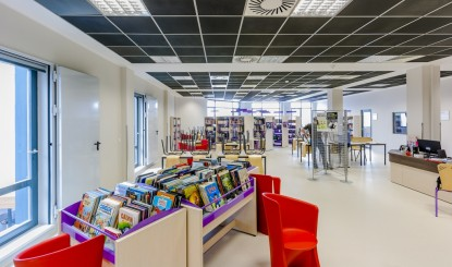 Scoala Franceza - Sala de studiu  Bucuresti SAINT-GOBAIN CONSTRUCTION PRODUCTS ROMANIA - DIVIZIA RIGIPS