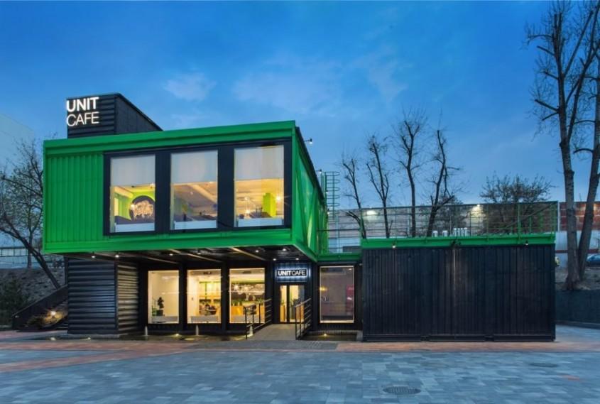 Unit Cafe, un proiect de TSEH Architectural Group