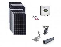 Sistem fotovoltaic on-grid Growatt 3kwp prindere tigla