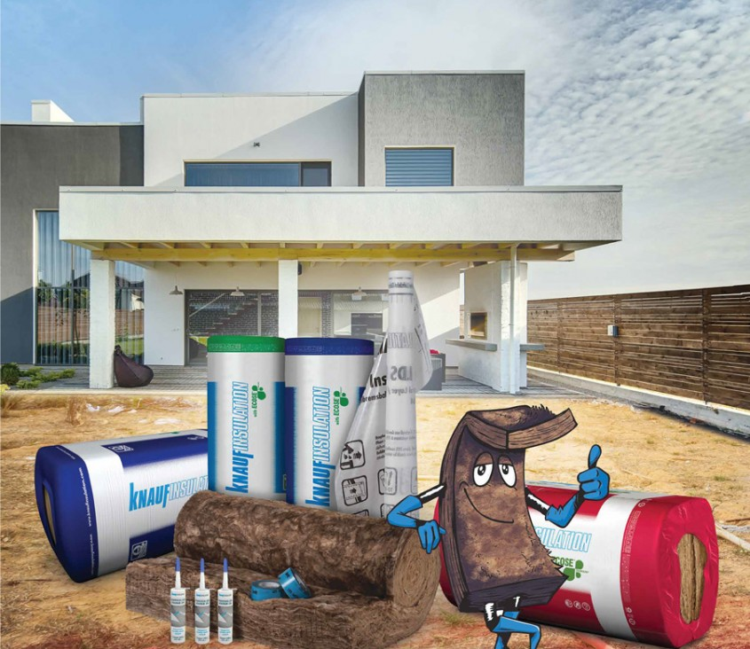 Gama de produse Knauf Insulation cu Tehnologia ECOSE®