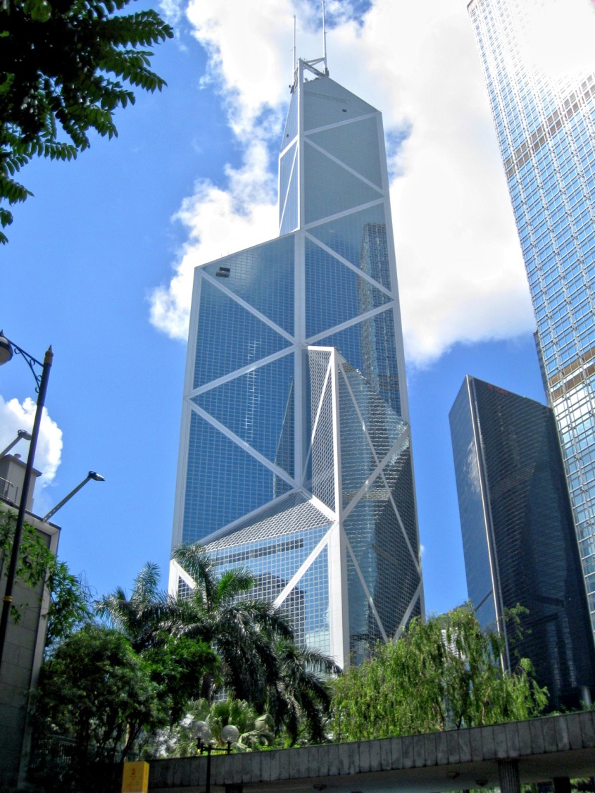 Bank of China Tower, Hong Kong (1990)