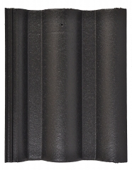 Tigla din beton Lux - Negru