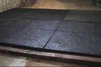 Pavele din cauciuc pentru grajduri / calarii, 100 x 100 cm - PONY