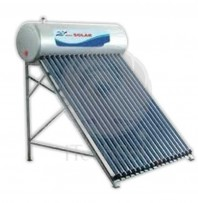 Kit solar presurizat compact cu boiler inox 100 litri si 10 tuburi vidate - ITechSol® ITSP1800