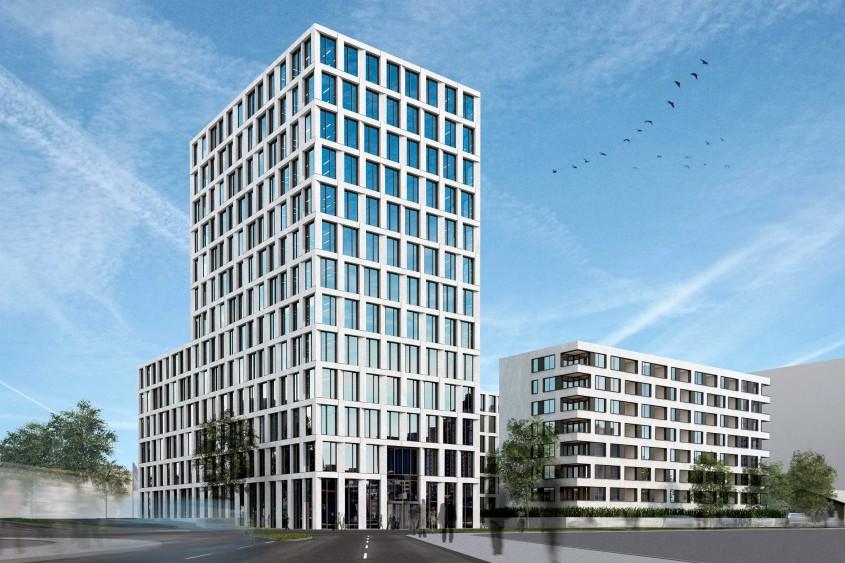 Clădiri din beton și aer. Tehnica ingenioasă folosită de constructorii unui proiect din Germania
