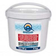 Clor rapid (soc), pastile 20g cu dizolvare rapida pentru piscine - ALBORAL CLOR SOC PASTILE