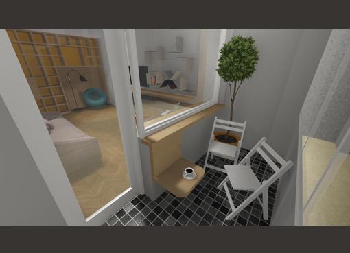 Modificari in apartament - 2 camere, str. Emil Racovita AsiCarhitectura