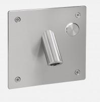 Baterie lavoar de perete din otel inox cu senzor - SLU 44PB