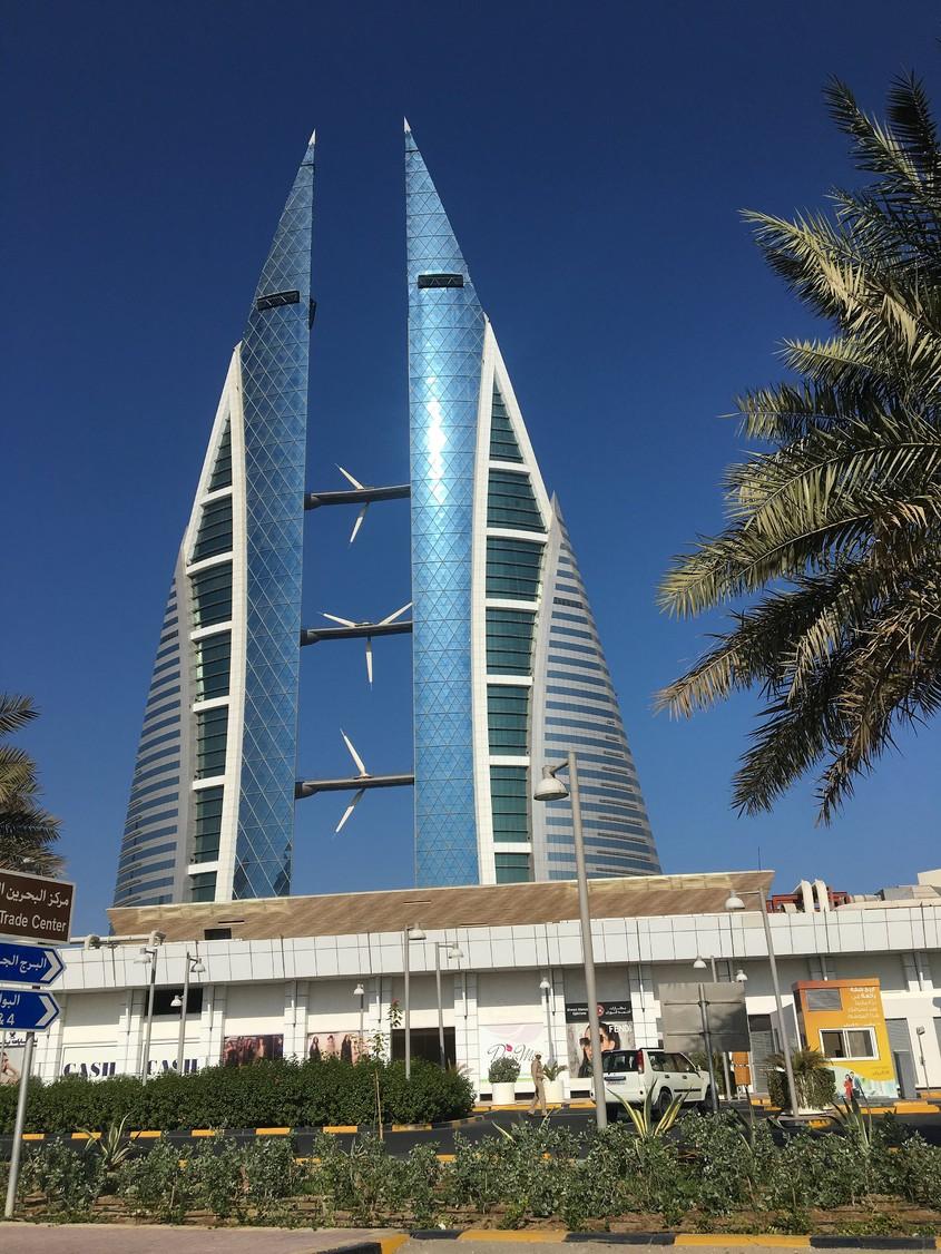Bahrain World Trade Center - Manama, Bahrain (2008)