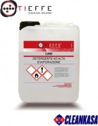Detergent profesional pentru spalat pardoseli, concentrat, cu evaporare rapida - TIEFFE LIND