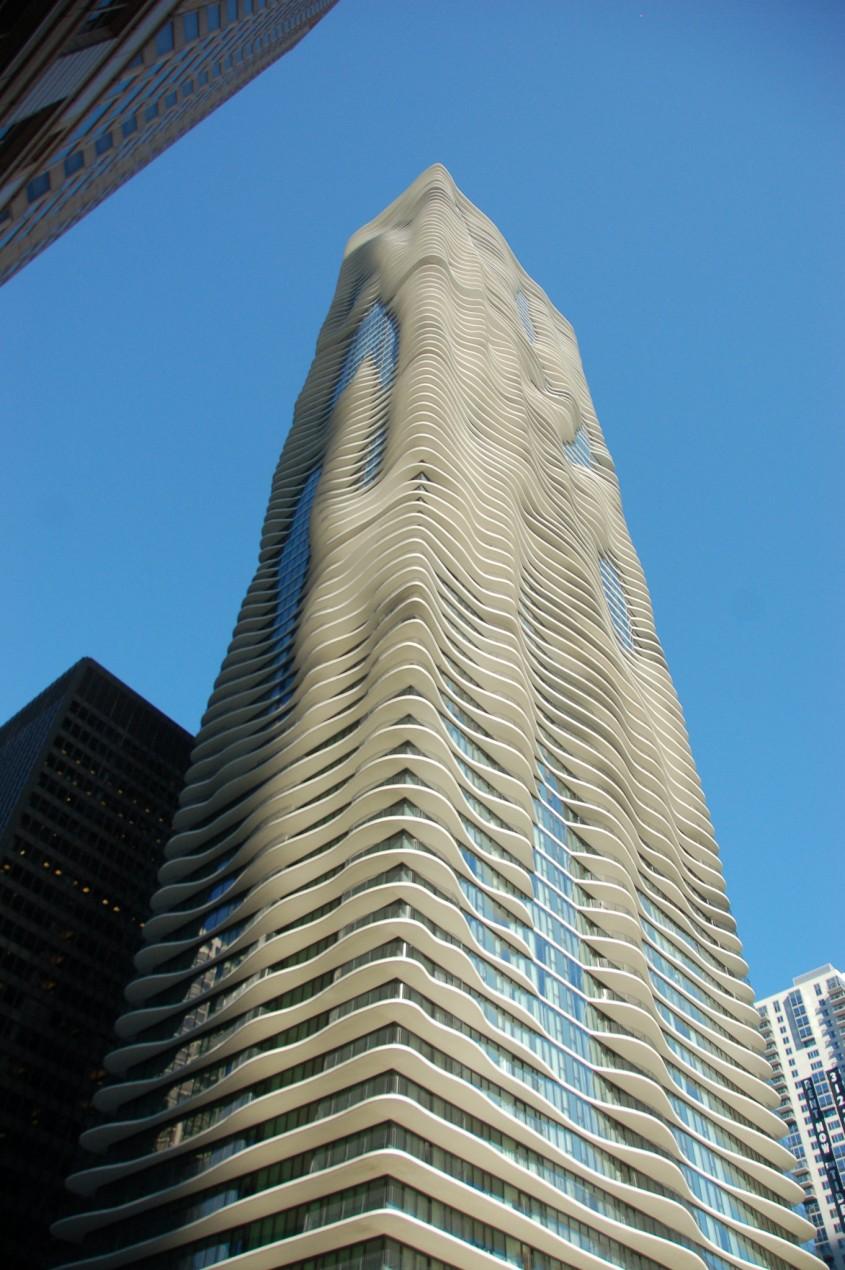 Aqua at Lakeshore East, Chicago, 2009