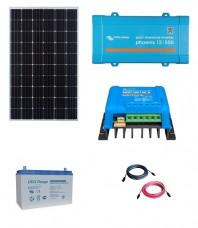 Kit Fotovoltaic Off-Grid 300W cu invertor de 500VA