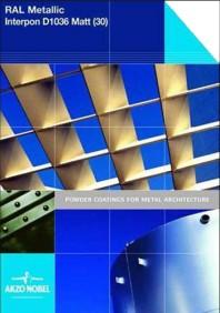 Colectia de vopsea pulbere Interpon D RAL Metalic Mat